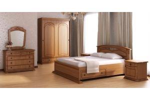 Спальный гарнитур Палермо 2 - Мебельная фабрика «Рось»