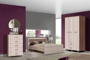 Спальный гарнитур Парма-2 - Мебельная фабрика «Олимп»