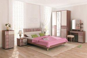 Спальный гарнитур Розали 1 - Мебельная фабрика «ВЕНГЕ»