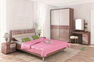 Спальный гарнитур Розали 4 - Мебельная фабрика «ВЕНГЕ»