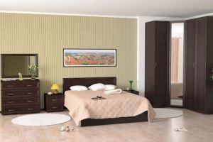 Спальня Береста с угловым шкафом - Мебельная фабрика «Люкс-С»