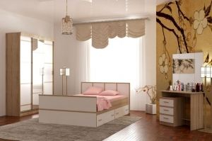 Спальный гарнитур Сакура 1 БГ - Мебельная фабрика «Памир»