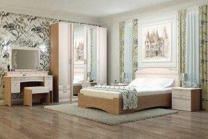 Спальный гарнитур Шато - Мебельная фабрика «Аллоджио»