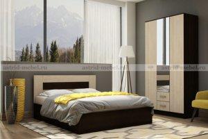 Спальный гарнитур Сити 1 - Мебельная фабрика «Астрид-Мебель»