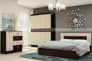 Спальный гарнитур Сити 2 - Мебельная фабрика «Астрид-Мебель»