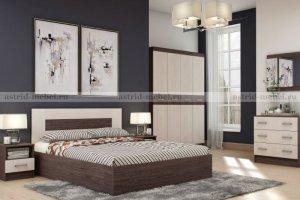 Спальный гарнитур Сити 3 - Мебельная фабрика «Астрид-Мебель»