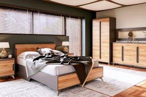 Спальный гарнитур Сканди Графит - Мебельная фабрика «CALPE»
