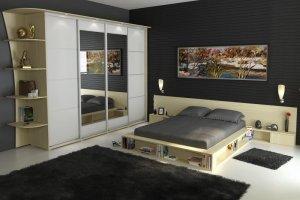 Спальный гарнитур со шкафом-купе 11 - Мебельная фабрика «Алекс-Мебель»