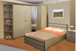 Спальный гарнитур Соло - Мебельная фабрика «Сибирь»
