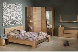 Спальный гарнитур Стреза с угловым шкафом - Мебельная фабрика «СБК-мебель»
