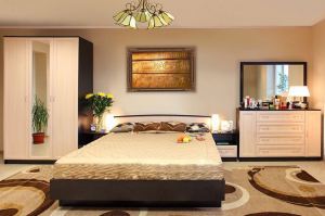 Спальня Светлана М1 - Мебельная фабрика «Люкс-С»