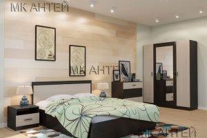 Спальня комбинированная Уют - Мебельная фабрика «Антей»