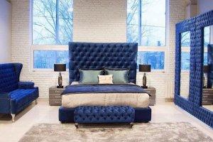 Спальный гарнитур в мягкой обивке - Мебельная фабрика «Уют»