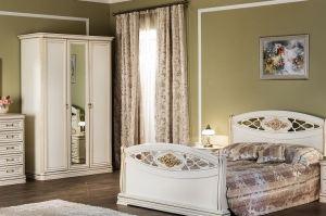 Спальный гарнитур Василиса 3 - Мебельная фабрика «Сомово-мебель»