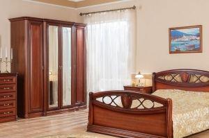 Спальный гарнитур Василиса 5 - Мебельная фабрика «Сомово-мебель»