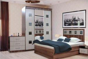 Спальный гарнитур Венеция - Мебельная фабрика «Грааль»