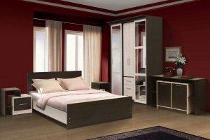 Спальный гарнитур Венеция 7 - Мебельная фабрика «Скиф»