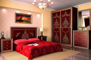 Спальный гарнитур Виктория - Мебельная фабрика «Эльф»