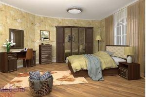 Спальный гарнитур Виктория орех - Мебельная фабрика «Мебель-Маркет»