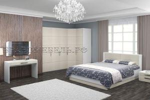 Спальный гарнитур Вива платина - Мебельная фабрика «Bravo Мебель»