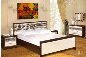 Спальный гарнитур Зебра  - Мебельная фабрика «Майя»