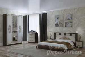 Спальный гарнитур Жасмин - Мебельная фабрика «ФОРЕС»
