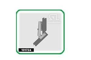 Петля угловая специальная  101724 - Оптовый поставщик комплектующих «Скобяная Лавка»