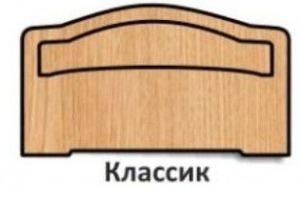 Спинка кровати Классик - Оптовый поставщик комплектующих «Элит & Ко»