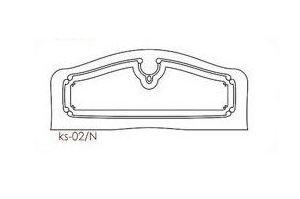 Спинка кровати ks-02/N - Оптовый поставщик комплектующих «PRO-ФАСАД»