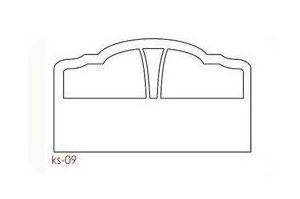 Спинка кровати ks-09 - Оптовый поставщик комплектующих «PRO-ФАСАД»