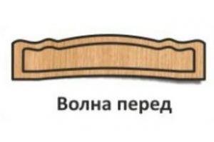 Спинка кровати Волна перед - Оптовый поставщик комплектующих «Элит & Ко»