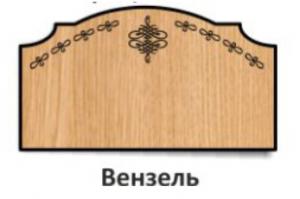 Спинка кроватная Вензель - Оптовый поставщик комплектующих «Элит & Ко»