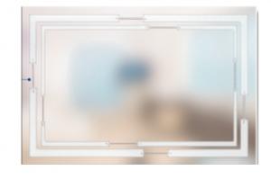 Стекло с Художественной пескоструйной обработкой Эстет - Оптовый поставщик комплектующих «SEDAK-Стеклотех»