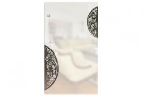 Стекло с Художественной пескоструйной обработкой Нежность - Оптовый поставщик комплектующих «SEDAK-Стеклотех»