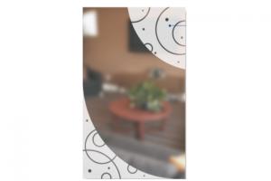 Стекло с Художественной пескоструйной обработкой Ручей - Оптовый поставщик комплектующих «SEDAK-Стеклотех»