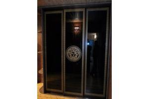 Стекло с пескоструйной обработкой для шкафов 7 - Оптовый поставщик комплектующих «Студия Художественного Стекла и Мебели»