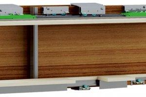 Алюминиевая навесная система для раздвижных дверей CPR 30 - Оптовый поставщик комплектующих «Хит-Профиль»