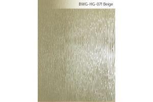 Стекло сатинированное с элементами покраски BWG-HG-071 Бежевое - Оптовый поставщик комплектующих «Адэм glass»