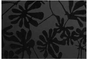 Стекло сатинированное с элементами покраски BWG-SMC-012 черное - Оптовый поставщик комплектующих «Адэм glass»