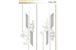 Стекло сатинированное с элементами покраски CDG-291 - Оптовый поставщик комплектующих «Адэм glass»