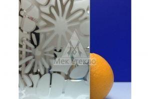 Стекло узорчатое Цветы - Оптовый поставщик комплектующих «Мек стекло»