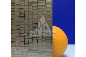 Стекло узорчатое SMC-015 - Оптовый поставщик комплектующих «Мек стекло»