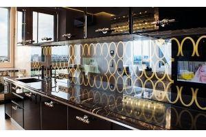 Стеклянный кухонный фартук 1 - Оптовый поставщик комплектующих «Frotelli»