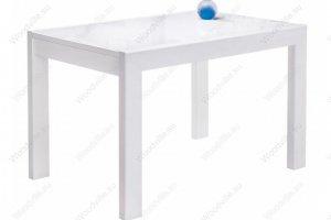 Стеклянный стол Эдгар белый - Импортёр мебели «Woodville»