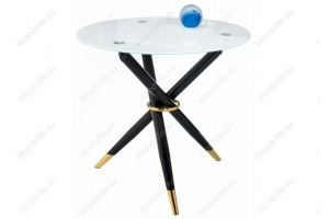 Стеклянный стол Rock white / black - Импортёр мебели «Woodville»