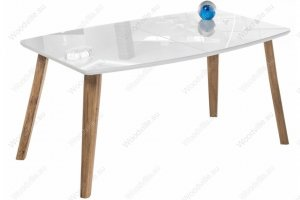 Стеклянный стол Серсея раскладной - Импортёр мебели «Woodville»