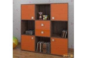 Стеллаж детский В-1 - Мебельная фабрика «Уют-М»