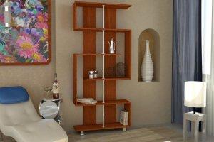 Стеллаж для книг 1 - Мебельная фабрика «Гермес»
