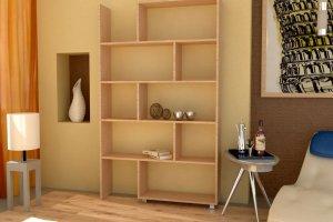 Стеллаж для книг 3 - Мебельная фабрика «Гермес»