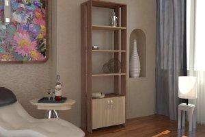Стеллаж для книг 4 - Мебельная фабрика «Гермес»